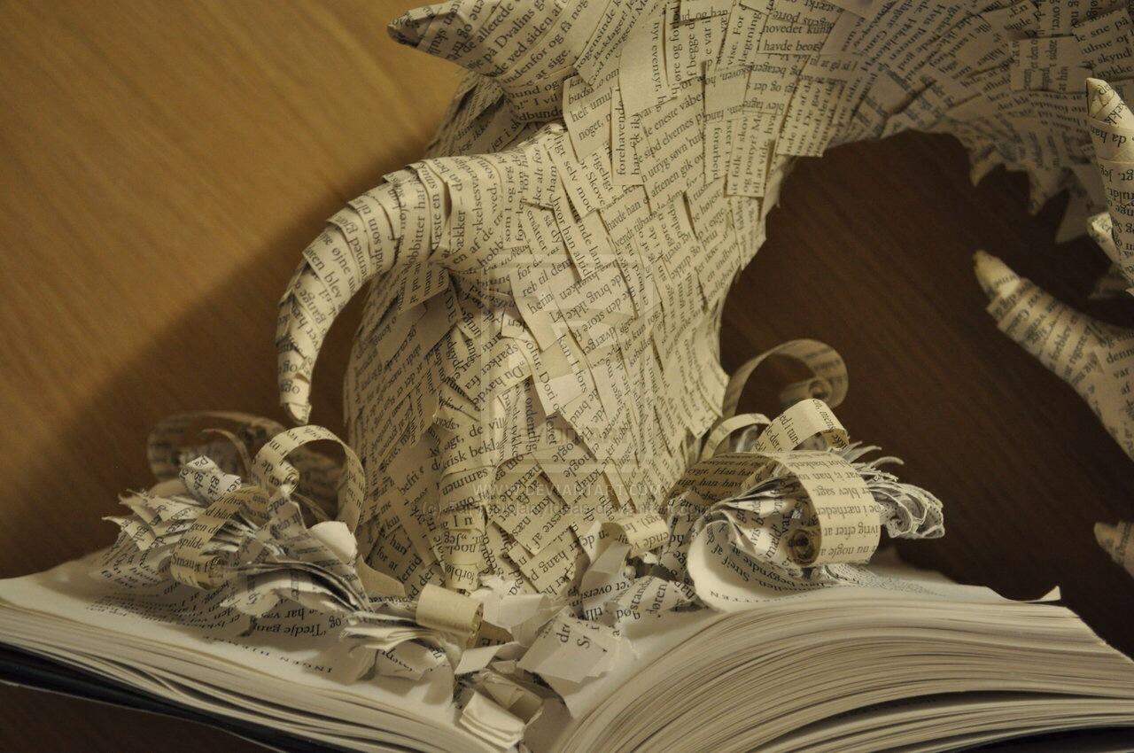 Как сделать хоббит из бумаги