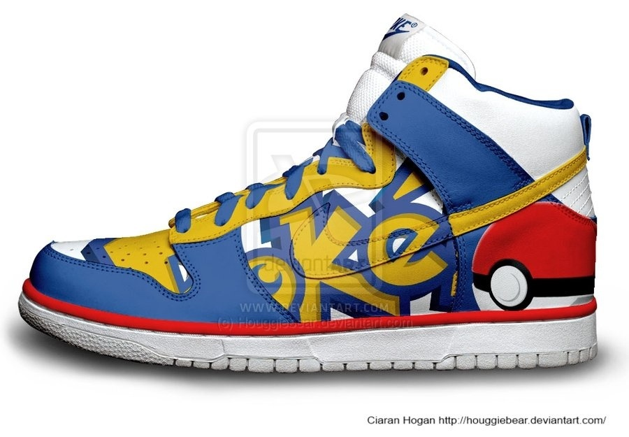 Custom Pokemon Nike Shoes
