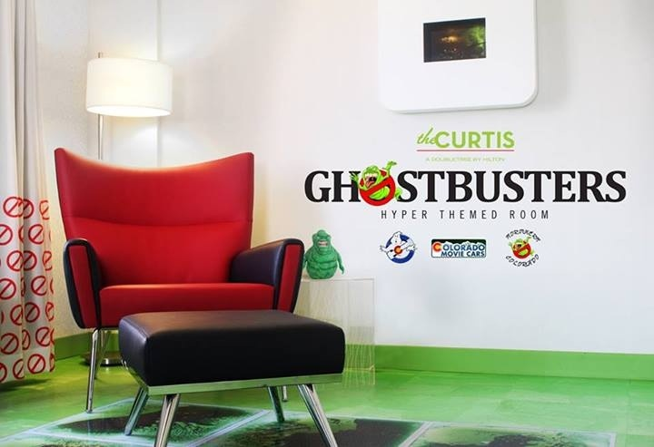 The Curtis Hotel Ghostbusters Room
