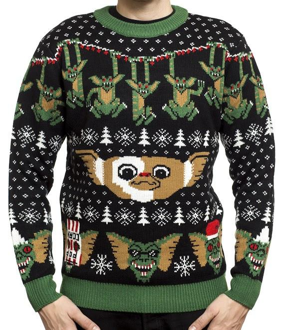Nerdy Christmas Jumpers Gremlins