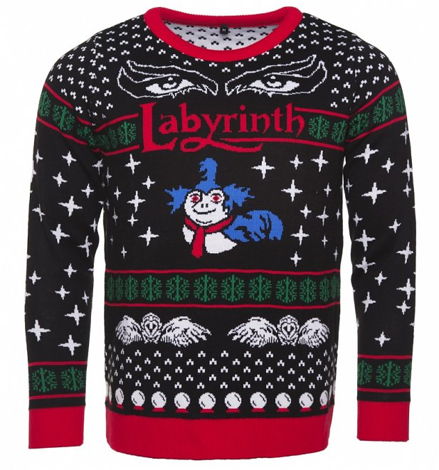 Nerdy Christmas Jumpers Labyrinth