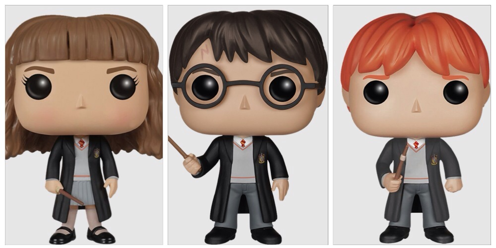 Harry Potter Pop Vinyls Nerdy Ninja Platypus