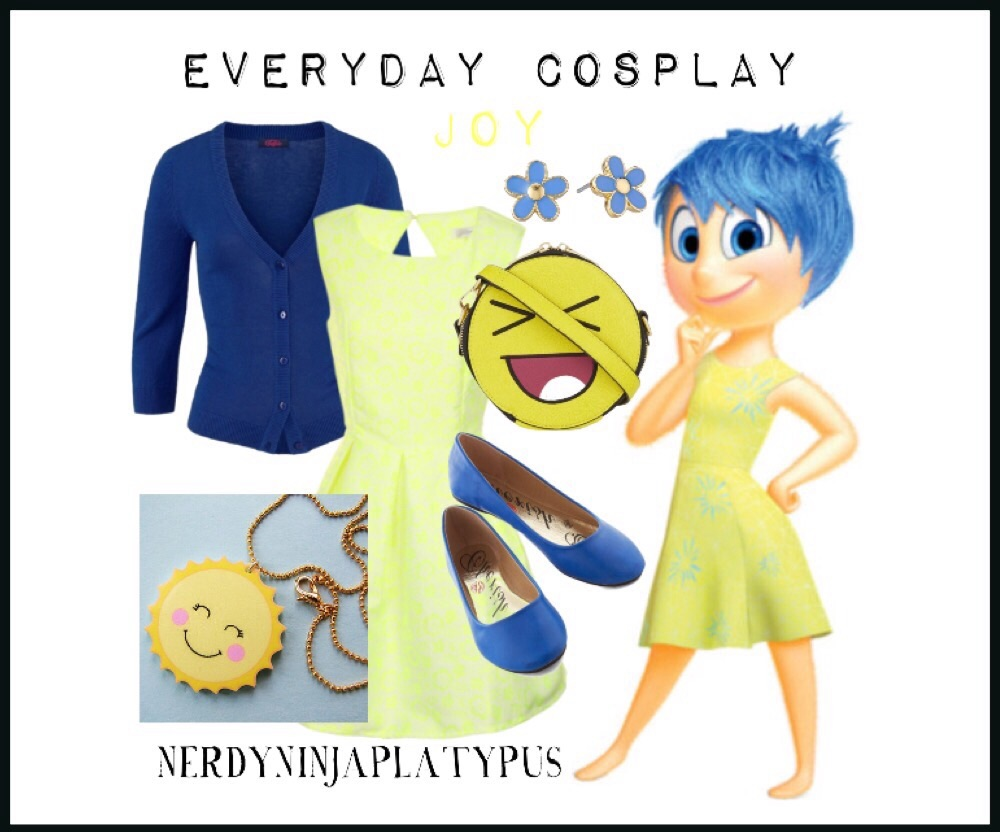 Inside Out Everyday Cosplay Nerdy Ninja Platypus
