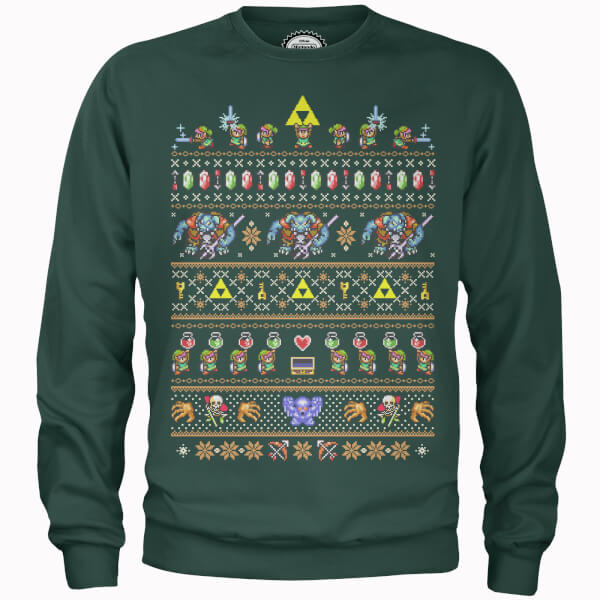 Nerdy Christmas Jumpers Legend of Zelda